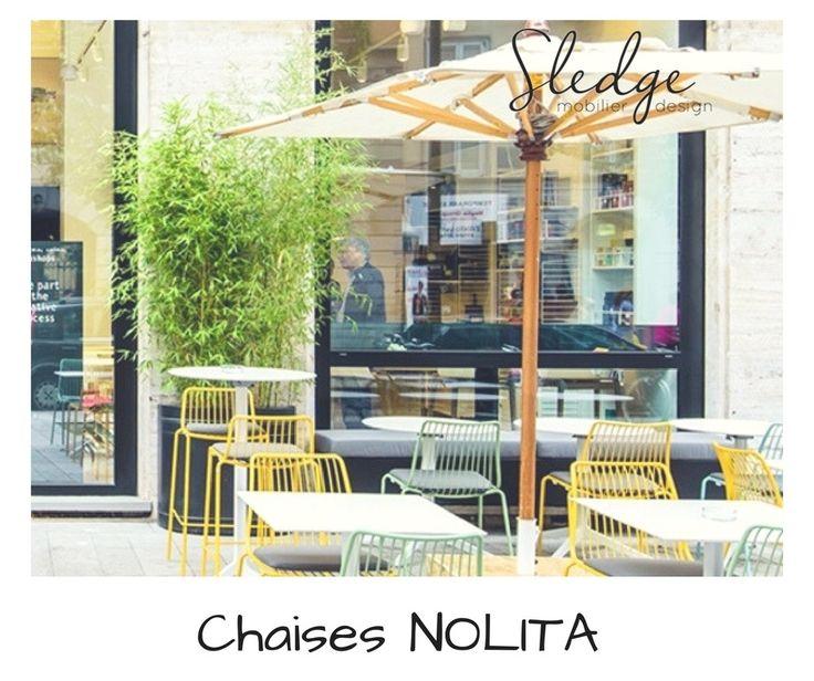 mobilier restaurant mobilier pedrali chaises nolita  www.sledge.fr