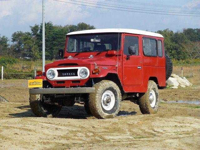 ランクル40 BJ44V改 2Fガソリンエンジン載せ替え Toyota landcruiser40
