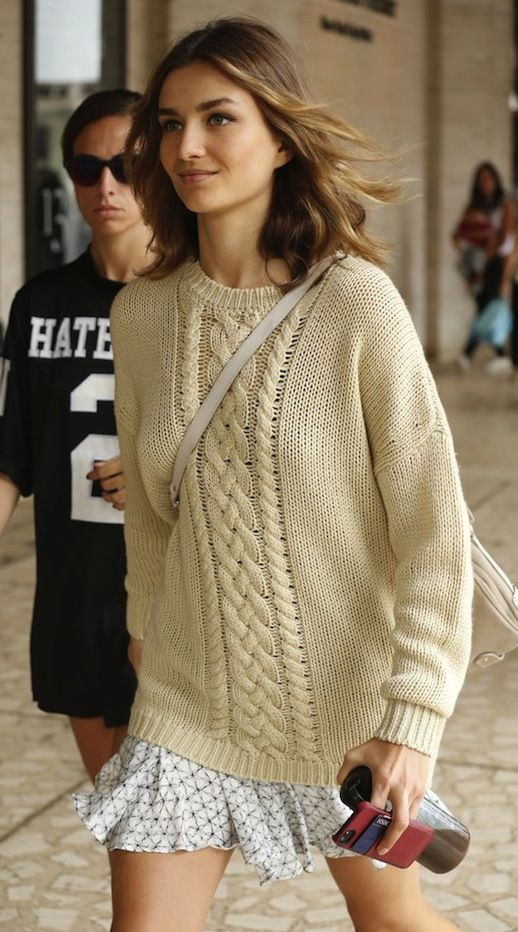 Knit + Skirt