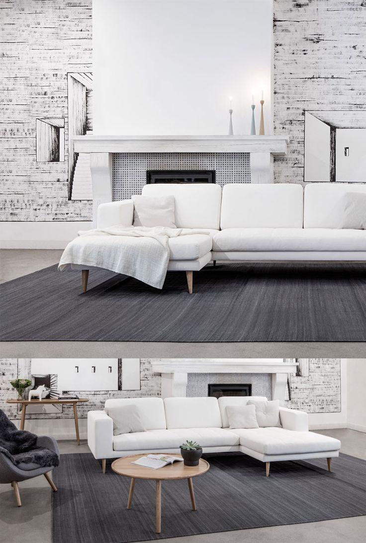 Sofa Markus marki Sits. Znajdź więcej na: www.euforma.pl #sofa #sits #livingroom #home #design