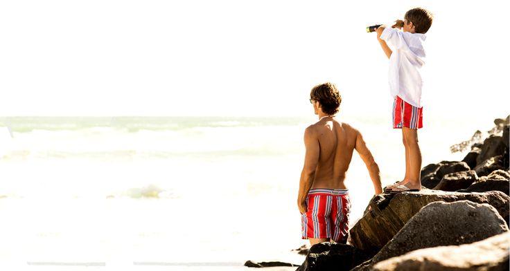 BAYAHIBE > chemise & maillot de bain pour hommes et enfants / camisas y traje de baño por los hombres y los niños / shirts & swimtrunk for men and boys