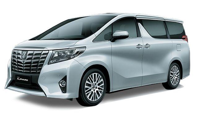 Toyota Alphard 2.5 G A-T Mobil - Silver Metallic