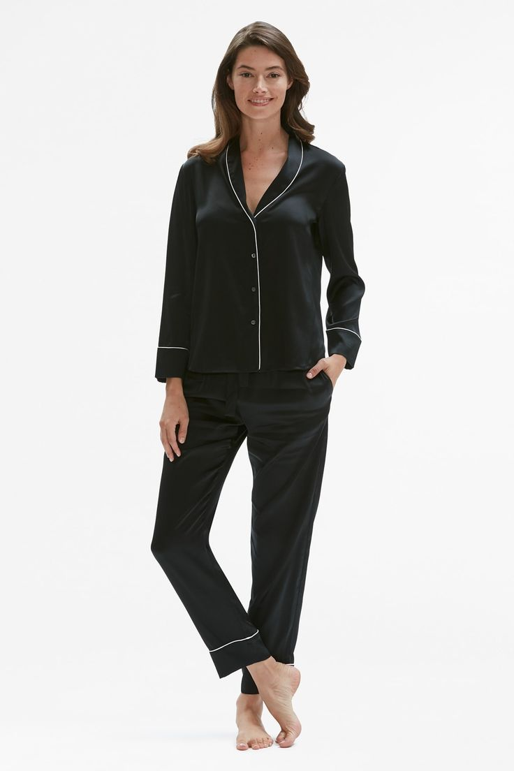 Black Silk Pajamas: Best 25+ Silk Pajamas Ideas On Pinterest
