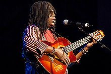 Milton Nascimento (Portuguese pronunciation:[miwˈtõ nasiˈmẽtu]; born October 26, 1942, Rio de Janeiro, Brazil) is a prominent Brazilian singer-songwriter and guitarist.