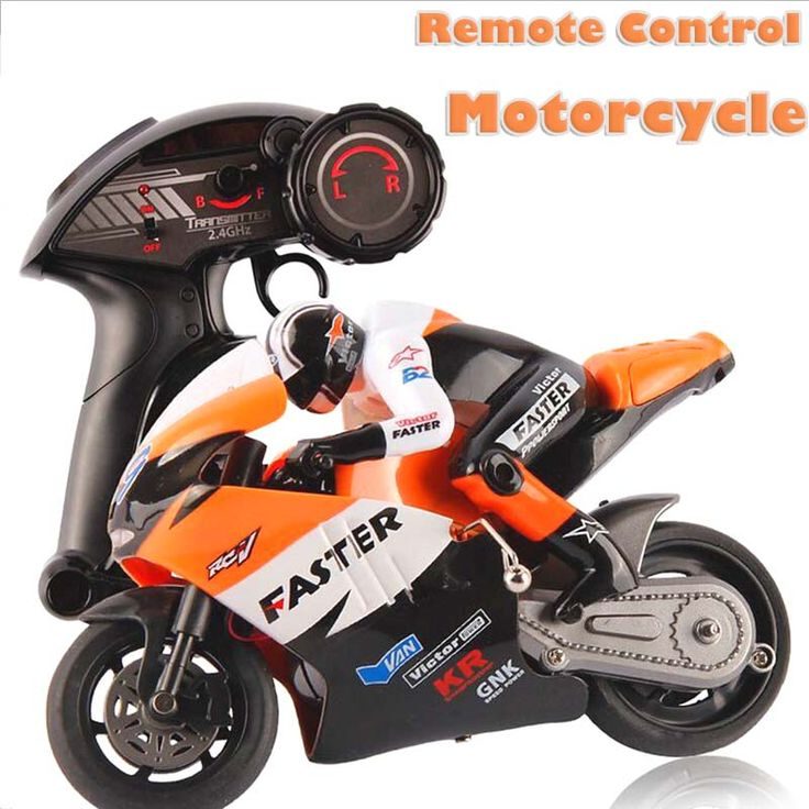 RC Motorcycle Toys For Kids New Style Plastic 4 Channel With Light U0026 Music  Remote Control Motorbicycle Drop