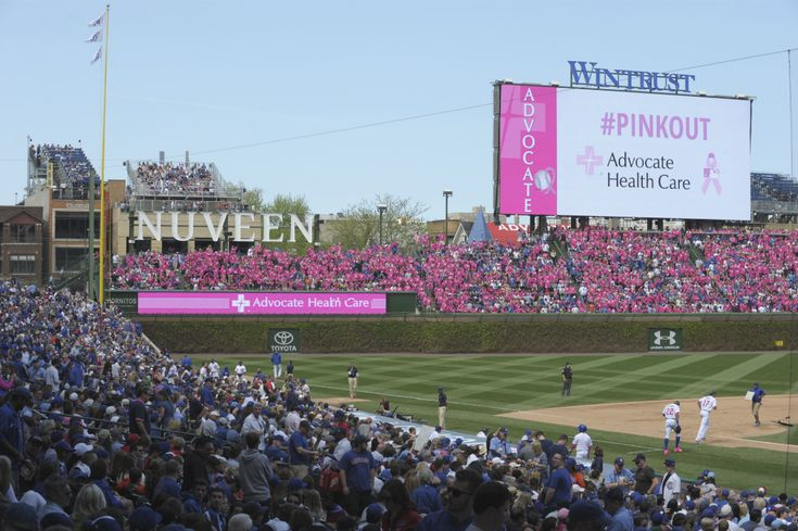 Advocate Health Care and the Chicago Cubs turned Wrigley Field pink for their annual breast cancer awareness game to recognize survivors and fighters.