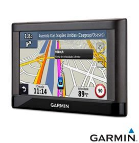 """GPS Garmin Nüvi 42 com Tela Touch de 4,3"""", Alerta de Localização de Radares, Áudio do Nome das Ruas e Sugestão de Faixa de Navegação"""