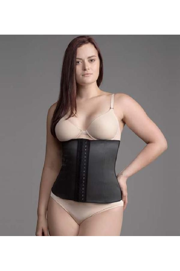 f8df9709aa3 Custom Made Fine The Band Waist Cincher Black Shapewear