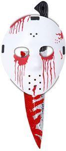 Slasher Hockey Mask & Knife Set - 326968 | trendyhalloween.com #jason #hockeymask #masks #halloweenmasks #halloween #costumekits #fridaythe13