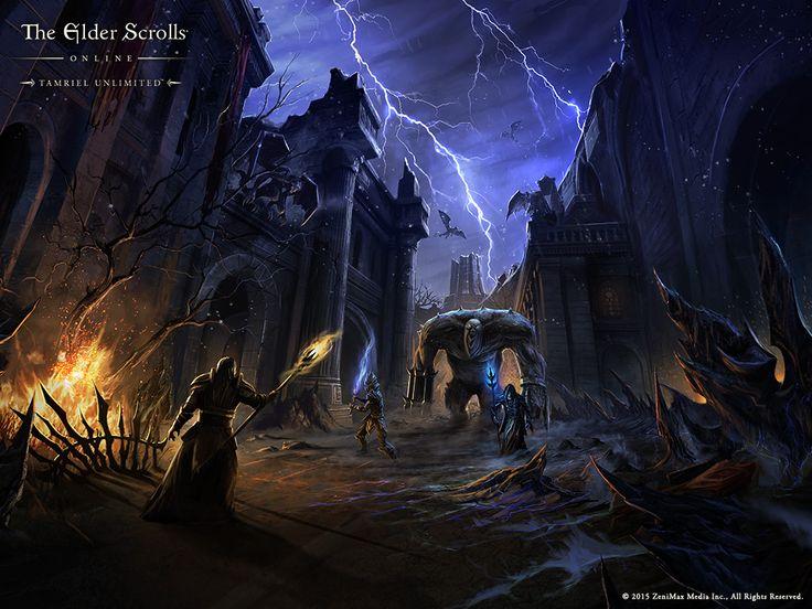 The Elder Scrolls Online Wallpaper » The Elder Scrolls Fan site