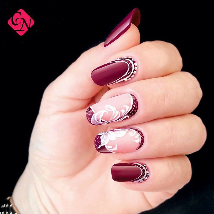crystalnails n gel nagelstudio nailart muster geln gel babyboomer nagelstudiowien. Black Bedroom Furniture Sets. Home Design Ideas