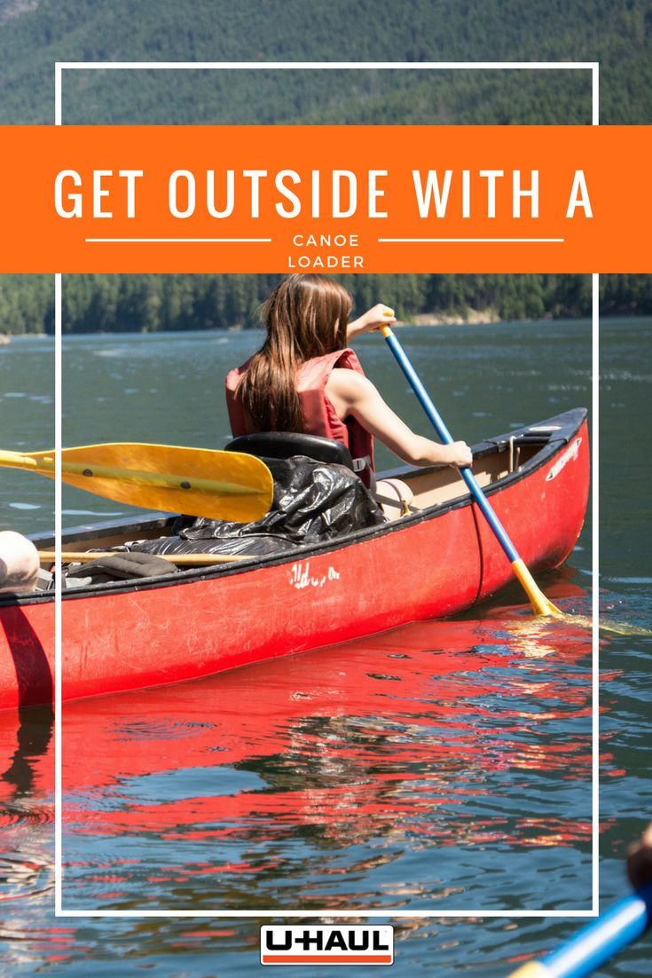 Get outside and on the water with a universal one man canoe loader