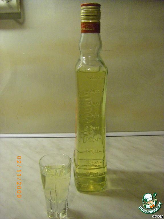 Водка яблочная ингредиенты