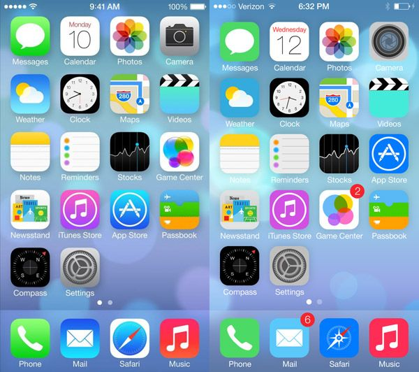 iOS 7_without gradients
