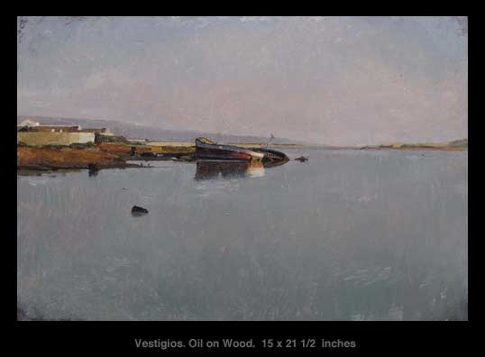Xavier Rodés, Vestigios. See it at Axelle Fine Arts Galerie, 91 Newbury Street, Boston