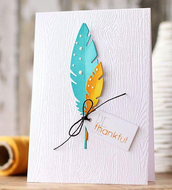 Скрап открытки в стиле чисто и просто