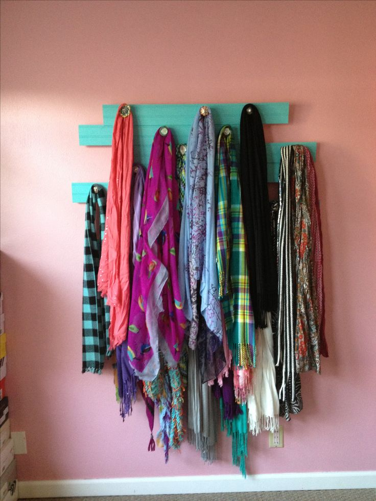 Organize Your Clothes 10 Creative And Effective Ways To Store And Hang Your Clothes: Best 20+ Scarf Rack Ideas On Pinterest