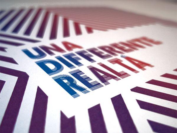 Una differente realtà by Matteo Della Chiesa, via Behance