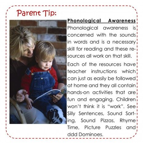 Phonological Awareness why it's important for your child.