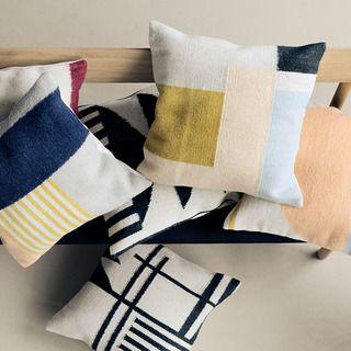 Ferm Living Kelim Squares Cushion | 2Modern Furniture & Lighting