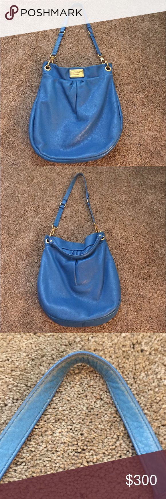 Selling this Marc by Marc Jacobs Classic Hillier hobo on Poshmark! My username is: mayra319. #shopmycloset #poshmark #fashion #shopping #style #forsale #Marc by Marc Jacobs #Handbags