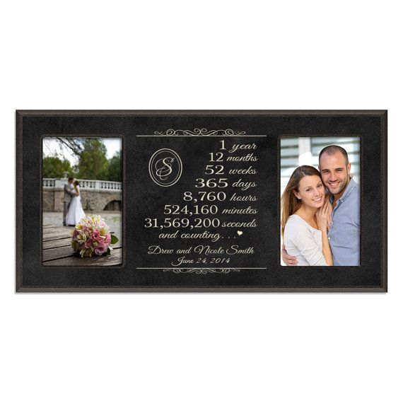 1 Year Wedding Anniversary Gifts For Her Ideas : 1st wedding anniversary on Pinterest Personalized wedding, Wedding ...