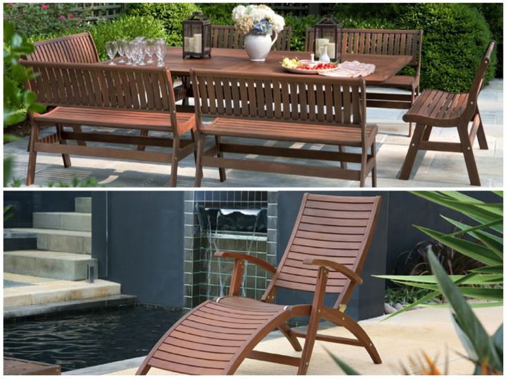 Outdoor #wood #furniture By Jensen Leisure | 50 Luxury Patio Furniture  Collections