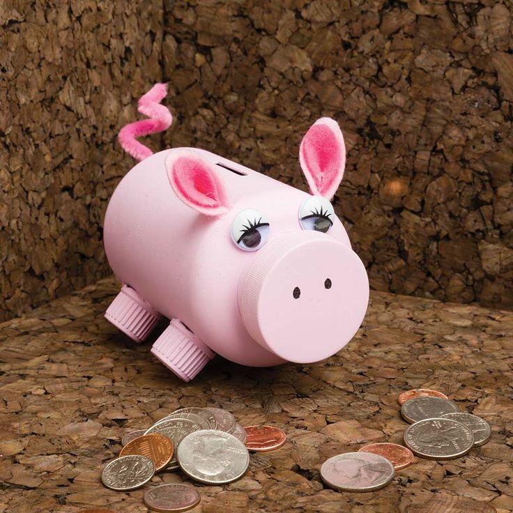 255 best diy images on pinterest for Make your own piggy bank