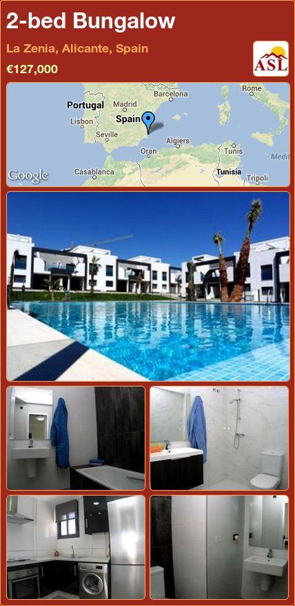 2-bed Bungalow in La Zenia, Alicante, Spain ►€127,000 #PropertyForSaleInSpain