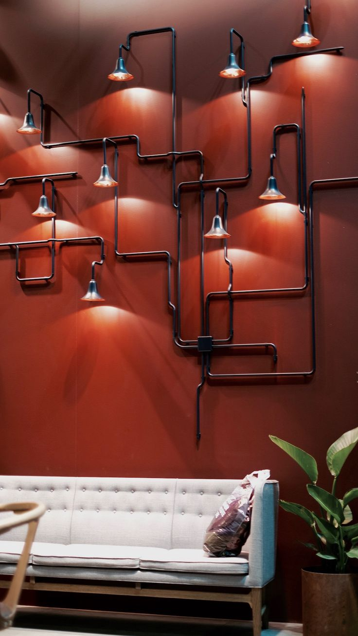 Wall Light For Steam Room : 25+ Best Ideas about Pipe Lighting on Pinterest Industrial steam showers, Industrial wall art ...
