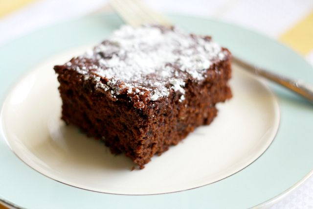 The Easiest Gluten Free and Vegan Chocolate Cake.