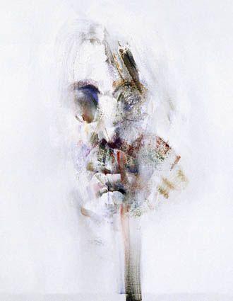 LOUIS LE BROCQUY Image of Yeats Part of PORTRAIT HEADS SERIES (c.1975-2005)