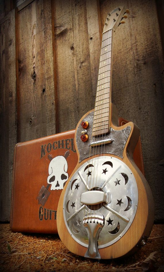 Kochel Guitars Resonator Guitar Electric Guitar by KochelGuitars