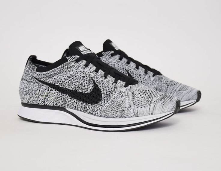 NIKE Women's Shoes - Flyknit Racer White Black - Find deals and best  selling products for Nike Shoes for Women