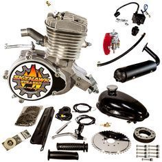 SkyHawk Angle Fire GT5A 66cc Bicycle Engine Kit