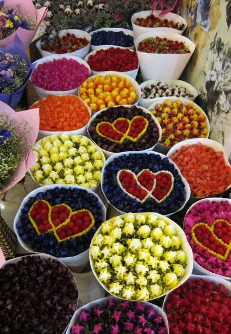 Flower Market, Kunming, China