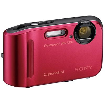 Sony Digital Camera DSC-TF1 Red. Αντοχή στο νερό έως και 10 μέτρα, φωτογραφίες 16.1MP και καταγραφή 720p video.