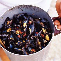 Steamed Mussels with fennel and Bayonne Ham  Recipe - Saveur.com