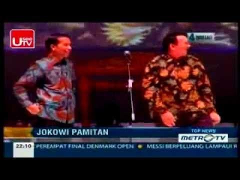 TERHARU.., Jokowi Pamitan Ke AHOK ( MENANGIS )