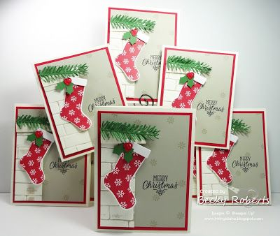 1000 images about hang your stocking on pinterest stampin up christmas christmas stockings. Black Bedroom Furniture Sets. Home Design Ideas