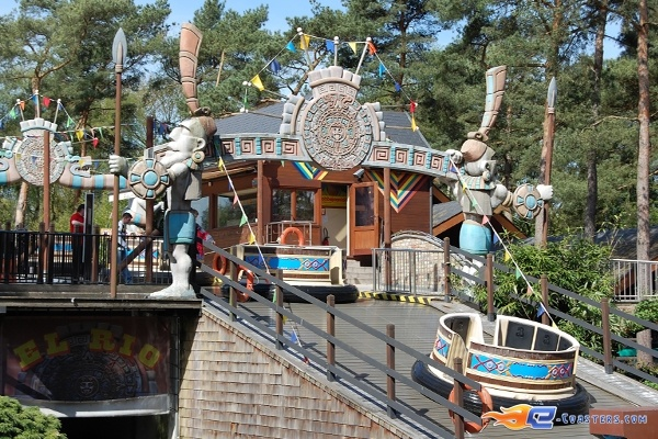 6/11 | Photo de l'attraction El Rio située à Bobbejaanland (Belgique). Plus d'information sur notre site www.e-coasters.com !! Tous les meilleurs Parcs d'Attractions sur un seul site web !!