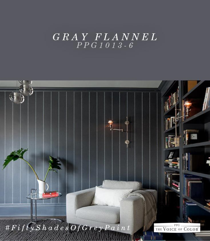 146 best images about 50 shades of grey paint on pinterest Shades of grey interior paint