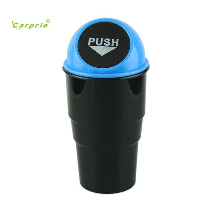 Auto mobil-mobil styling mobil styling BARU sampah dapat Sampah Mobil Sampah Dust Kasus Holder Bin mar07