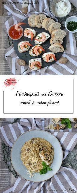 Fischmenü zu Ostern - schnell & unkompliziert | Rezept | Kochen | Essen