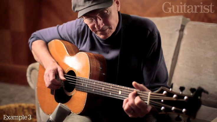 James Taylor on playing and technique: exclusive video for Guitarist mag...