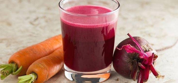 Te invitamos a probar un delicioso batido a base de remolacha y zanahoria que te permitirá depurar la sangre y cuidar de tu hígado.¡No te lo pierdas!