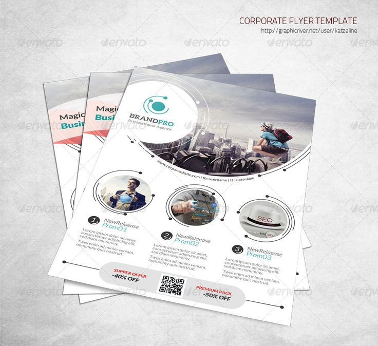 94 best Creative Flyer Template images on Pinterest Creative - holiday flyer template example 2