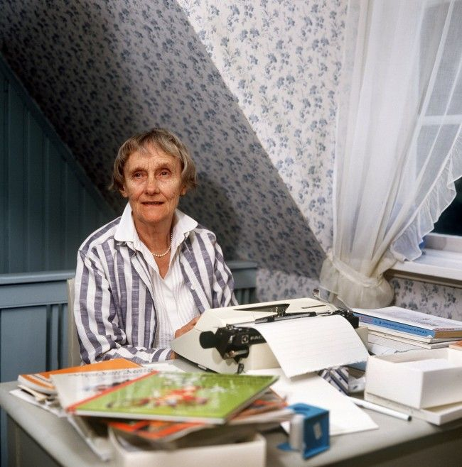 Astrid Lindgren. Foto: All Over
