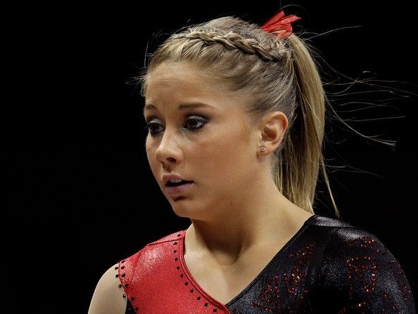 Remarkable 1000 Images About Gymnastics Hairstyles On Pinterest Knot Bun Short Hairstyles For Black Women Fulllsitofus