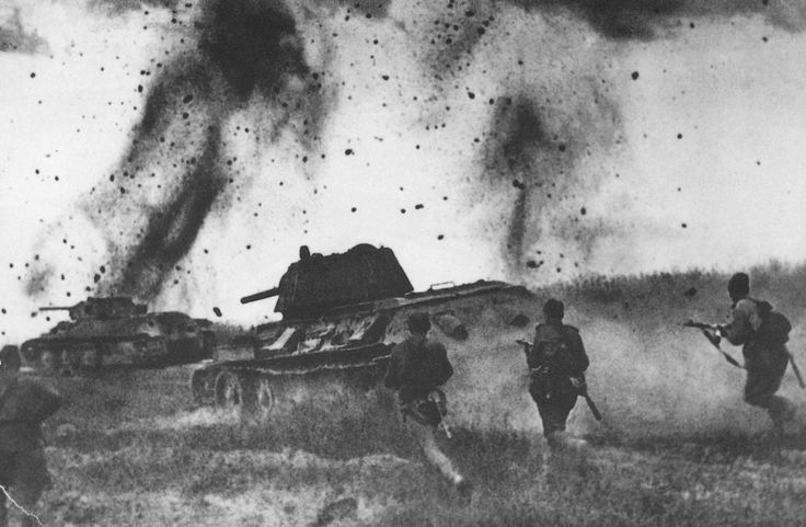 Battle of Kursk one of the largest battles in the history of man